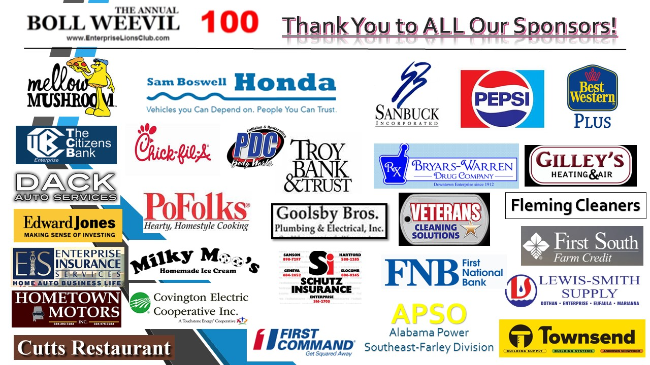 17th Annual BW 100 Sponsors