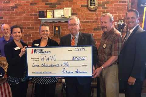 First Command WWVC Donation 22 May 2019